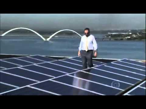 Energia Solar em Brasilia. Sistema Fotovoltaico de  Energia Nova no Lago Sul de Brasilia