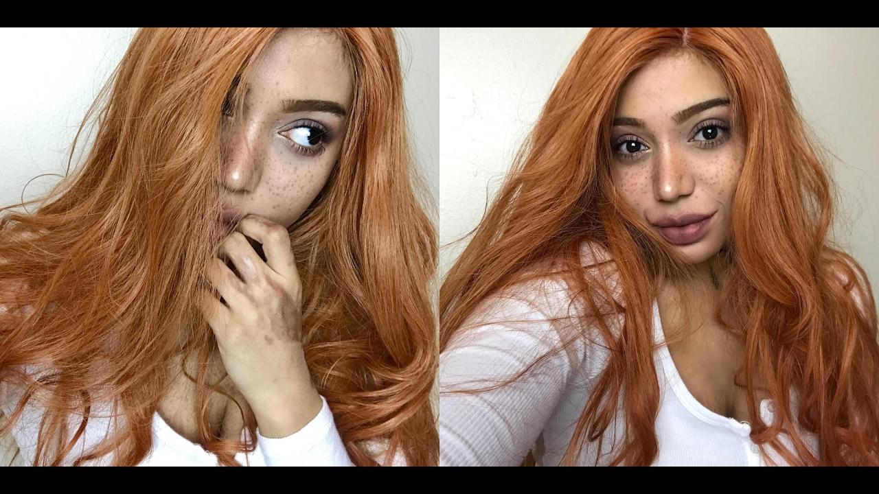 YA GIRL IS A GINGER NOW DONALOVEHAIR human hair wig---Celia Leslie ... 5cd4f9eee
