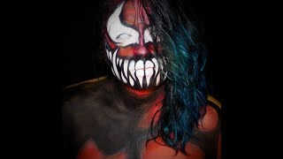 Carnage Prince Devitt Body Paint Tutorial/ Balor Evolution Series/ MakeUpEnPointe