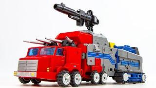Transformers MMC U-01 Stellarus Prominion Scar Convoy Optimus Prime Vehicle Robot Toys