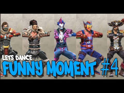 FUNNY MOMENT #4, LETS DANCE - GARENA FREE FIRE