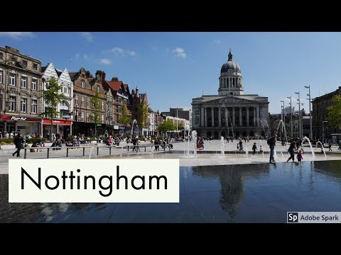 Travel Guide Nottingham City Nottinghamshire UK Pros And Cons