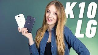 LG K10 K410: «глянцевая галька»(Цена и наличие: http://rozetka.com.ua/lg_k10_k410_black_blue/p7153390/ Видеообзор LG K10 K410 Смотреть обзоры других смартфонов: ..., 2016-03-29T11:27:31.000Z)