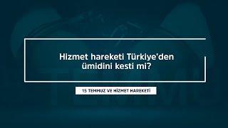Hizmet hareketi Türkiye'den ümidi kesti mi?   Mustafa Yeşil cevaplıyor