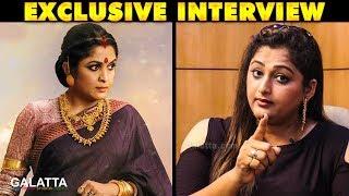 என்னுடைய Target Ramya Krishnan - Anniyar Gayathri | தெய்வமகள் | Rekha | Galatta Exclusive Interview