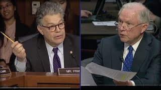 JEFF SESSIONS JUST PULLED OUT THIS PAPER ON SENATE FLOOR AND MADE AL FRANKEN SHIVER IN FEAR Free HD Video