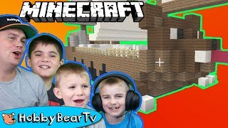 Zapętlaj Minecraft Bear Pirateship Built with HobbyBear | HobbyBearTV