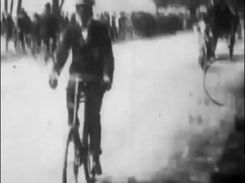 Hyde Park Bicycling Scene 1896 Robert W Paul London Royal Park  