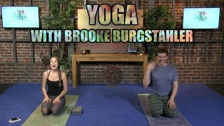 Yoga LIVE! With Brooke Burgstahler (Vinyasa Flow)