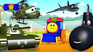 Visit to the Army Camp | Bob The Train Videos & Song | Kids Nursery Rhymes