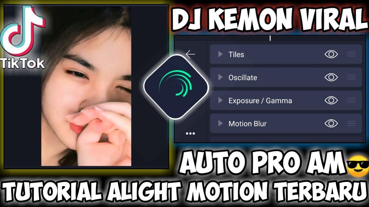 Tutorial JEDAG JEDUG Alight motion gampang || Lagu Dj Kemon Viral Tiktok