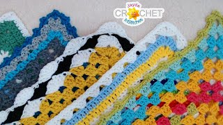 Blanket Borders - InStitches Family Crochet Party 44