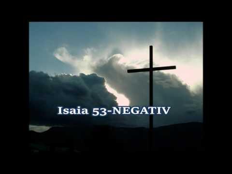Isaia 53(Disprețuit ai fost).Ala Bragari-NEGATIV