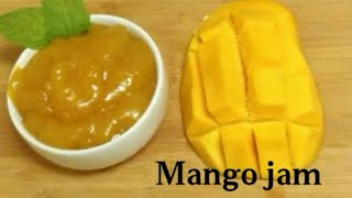 Mango jam - with few ingredients || Homemade Mango Jam || Easy Recipe || Delicious Food recipes ||