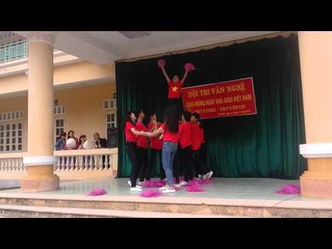 Nhảy aerobic cực hay-học sinh THCS