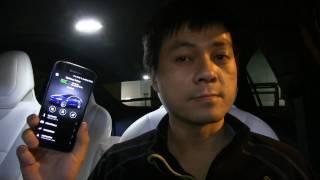 New Tesla mobile app