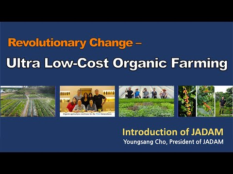 Revolutionary Change - Ultra Low-Cost Organic Farming.  JADAM [Multi-language Subtitles]