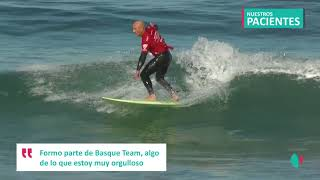 Aitor Francesena, surfista adaptado-Prueba de esfuerzo con el Dr. Pérez de Ayala