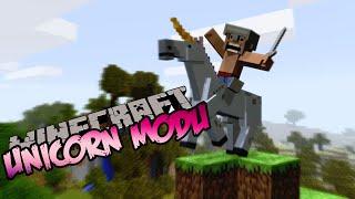 Minecraft : Eğlenceli Mod Tanıtımı : UNICORN MODU! - Pegasus,Yanan At ve Fazlası !