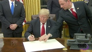 Trump Signs Waiver For His Defense Secretary Mattis