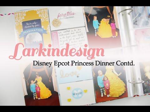 Disney Epcot Princess Dinner Contd.