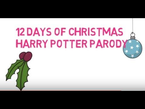12 days of christmas harry potter christmas carol parody 6