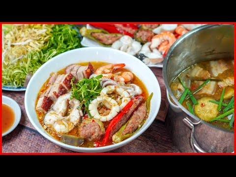 Bi Quyết Nấu Bun Mắm Miền Tay Ngon Trứ Danh Co Ba Vietnamese Seafood Gumbo Recipe Youtube