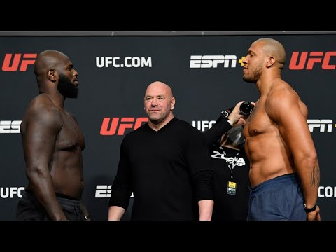 UFC Vegas 20: Weigh-in Faceoffs