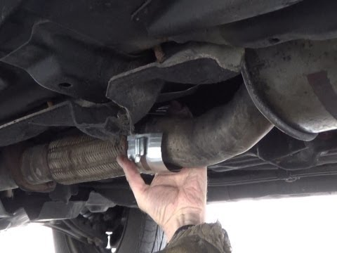 how-to-repair-a-hole-/-leak-in-exhaust-pipe-without-dismantling
