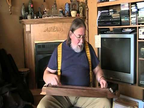 """Ben Seymour playing """"The Hungry Child"""" on a Walnut Scheitholt.mpg"""