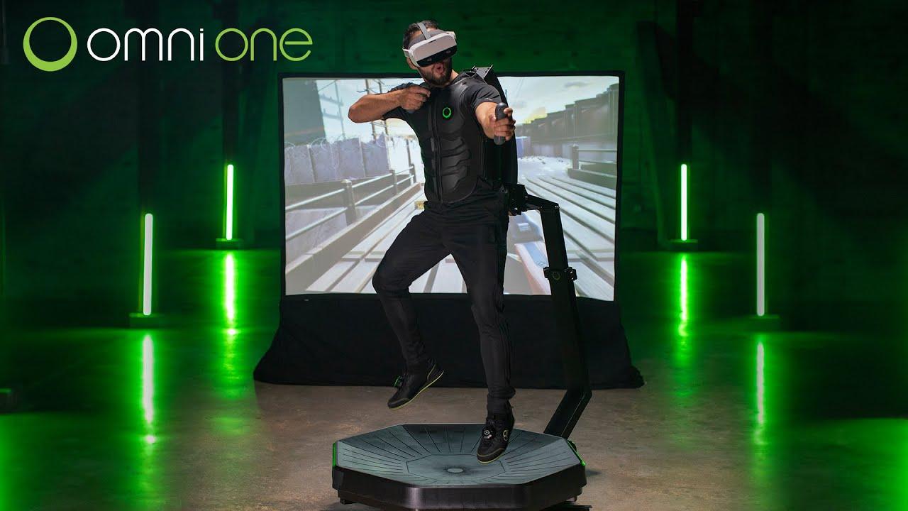 Virtuix анонсировали беговую дорожку для дома Omni One