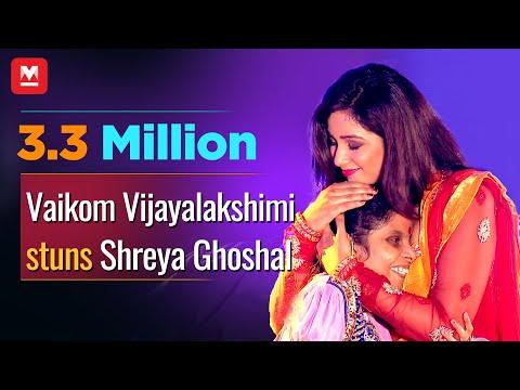 Vaikom Vijayalekshmi Calling Shreya Ghoshal on to The Stage | Kathirunnu | Jayaragangal