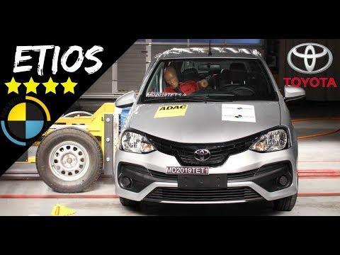 Toyota Etios 2019 Recebe 4 Estrelas No Latin Ncap | Top Carros
