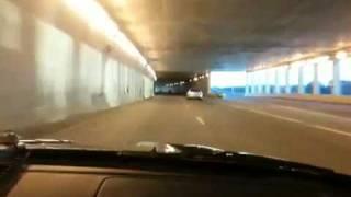 S2000 tunnel run w/ amuse titan r1 dual exhaust
