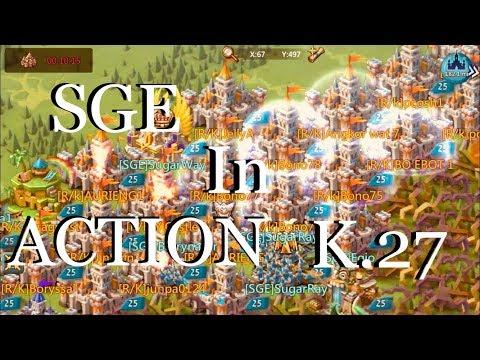 Lords Mobile : Kingdom 27 Rallies -SGE