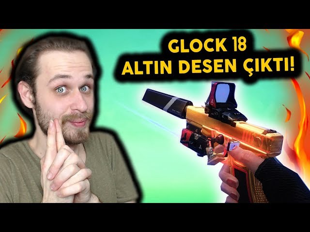GLOCK 18 ALTIN DESEN ÇIKTI! - ZULA