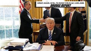 President Trumps Meeting with Intel CEO Brian Krzanich Regarding New Factory (Arizona)