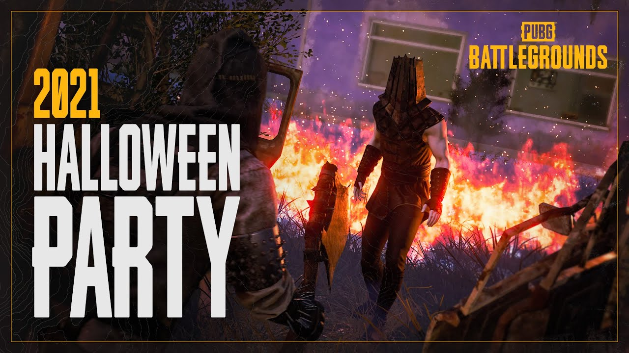2021 Halloween party | PUBG