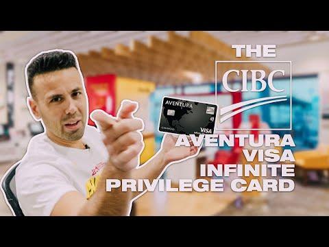 Unboxing The NEW Cibc Aventura Visa Infinite Privilege Metal Card