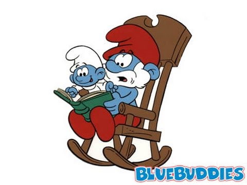baby smurf tries to stay up past his bedtime youtube
