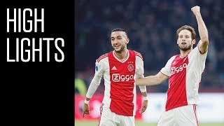 Highlights Ajax - De Graafschap