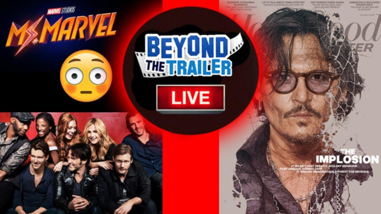 Fix Ms Marvel? Johnny Depp Hollywood Reporter, True Blood Reboot