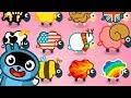 МАЛЫШ Панго СПАСИ овец от ЗЛОГО ВОЛКА Игровой мультик для детей Игра для самых маленьких mp3