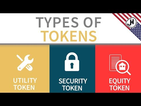 What is a Utility Token, Security Token and Equity Token?