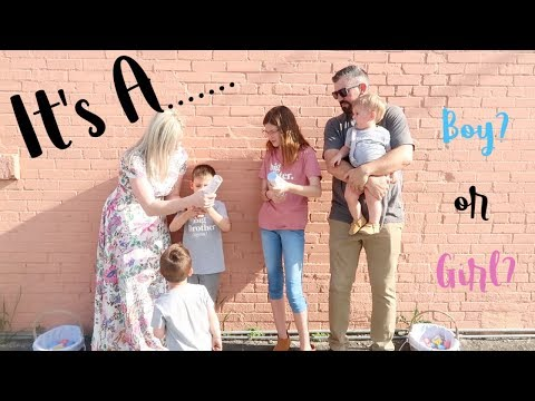 BABY GENDER REVEAL   SURPRISE!! OUR BABY IS A..........