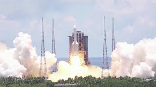 China launches its first probe to Mars