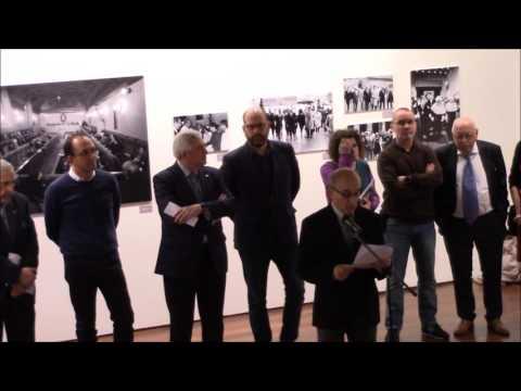 """Inauguración da exposición """"A CIDADE NO TEMPO. A MIRADA DE MANOLO BLANCO"""""""