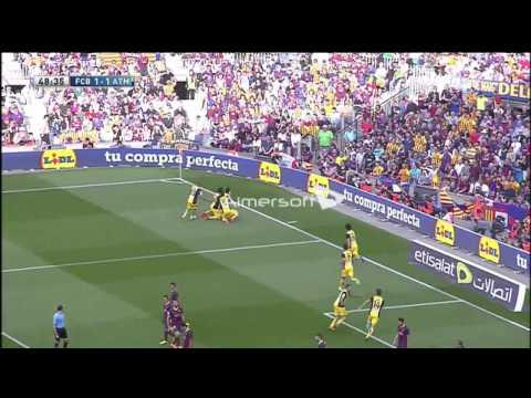 Barcellona - Atletico Madrid 1-1 Fox Sport Stefano Borghi 17/05/2014