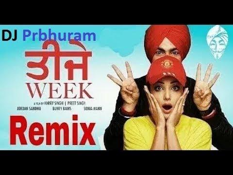 Teeje Week Teri Yaad Aa Gayi (hard-dholki) Mix By Dj Prbhuram