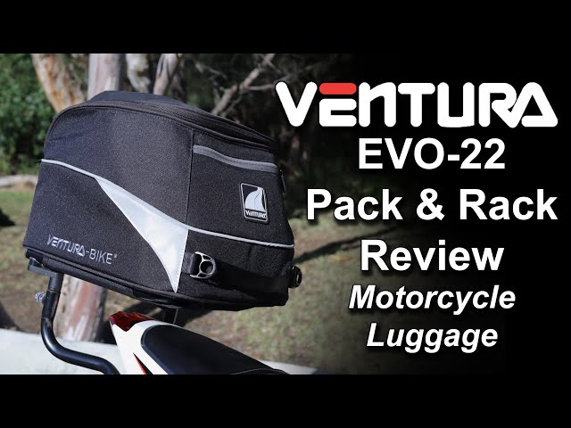 Ventura EVO-22 Motorcycle Bag & Rack Review (Daytona 675 / Ninja 400)